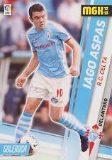 N°090 IAGO ASPAS JUNCAL # CELTA VIGO LIVERPOOL.FC TRADING CARD PANINI LIGA 2013