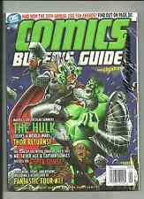 COMICS BUYERS GUIDE #1633  AUTOGRAPHED BY MARK SPARACIO ON COVER !!