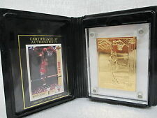 Michael Jordan Chicago Bulls Highland Mint L/E Gold Upper Deck 1994 Mint Card
