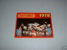 Matchbox 1978 Catalog Catalogue