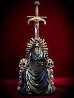 Grim Reaper Letter Mail Opener Holy Death Throne Dagger Statue Gothic Halloween