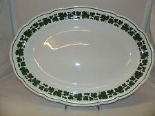 Meissen 841501 Weinlaub 00310 Platte oval 50 cm Ausstellungsware
