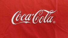 Vintage Coca Cola Coke T-shirt men sz L made in USA Red/white