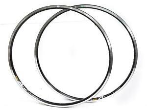 2 QTY Mavic A719 700c / 29er 36 Hole 36H Road Touring CX Bike Rim Black New
