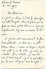 LE JOURNALISTE ET CRITIQUE JACQUES BOULENGER EN 1943