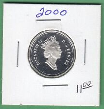 2000 Canadian Proof 25 Cents Coin From Set -