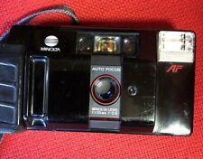 Minolta AF-Z 35mm Film Camera 1:2.8 lens. Point & Shoot.