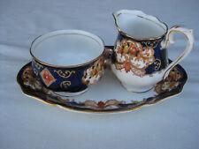 Royal Albert Heirloom Small Cream and Sugar With Tray