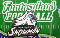 Disney Fantasyland Football Mystery Abominable Snowman Matterhorn Pin