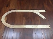 Thomas and Friends - Partial Wooden Train Track Set - Lot of 13