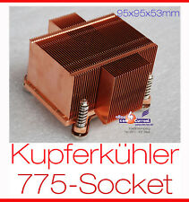 MASSIV-PASSIV LAUTLOS COOLER KUPFER KÜHLER COOPER COOLER INTELSOCKET 775 #E50 MM
