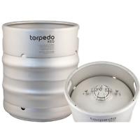 10 GALLON! Torpedo Ball Lock Keg - 10 gal Corny Keg Homebrew Stainless Beer Wine