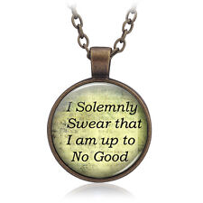 Time Gem Necklace Harry I Solemnly Swear That I Am Up To No Good