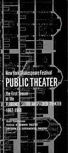"""Jill O'Hara """"HAIR"""" Gerome Ragni / Shelley Plimpton 1967 Public Theatre Playbill"""