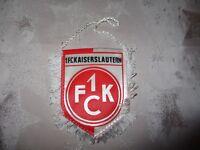 "1.FC Kaiserslautern Original kleiner gedruckter 70iger Jahre Wimpel ""Wappen"" Neu"