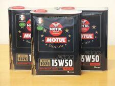 7,70€/l Motul Classic Motor Oil SAE15W-50 3 x 2 ltr
