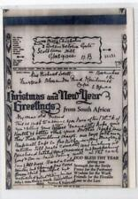 GB: 1943 Christmas & New Year Greetings from South Africa Airletter (C40078)