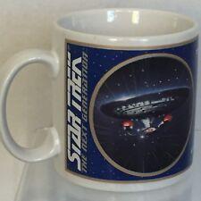 Star Trek Next Generation USS Enterprise NCC-1701-0 Coffee Mug Vintage 1994