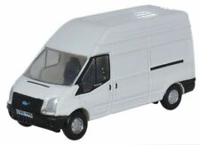 Oxford NFT006 Ford Transit LWB High Roof - White 1/148th N Gauge In Case - T48Po
