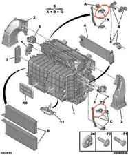 1607488280 - CITROEN C4 Black Heater Actuator Blend Cable (ATTUATORE ARIA CALDA)