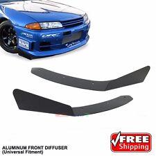 Universal Winglet Front Bumper Side Lip Diffusser V-Lip Spoiler Toyota Subaru