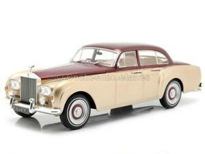 1963 Rolls-Royce Silver Cloud III Flying Spur Red-Gold 1:18 MC Group 18132