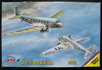 "MPM 72508 - Douglas DC-2 - ""PAA / EAL"" - 1:72 - Flugzeug Modellbausatz Model KIT"