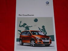 VW Cross Touran Prospekt von 2009