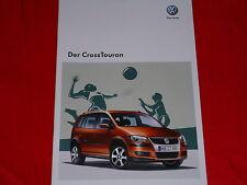 VW Cross Touran Prospekt von 2009
