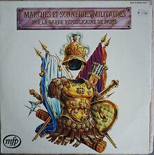 MARCHES ET SONNERIES MILITAIRES PAR LA GARDE REPUBLICAINE DE PARIS 33T  LP