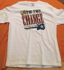 Vote For Change Tour Shirt Xl 2004 Pearl Jam
