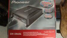 Pioneer GM-D8604 amplifier & matching 6x9 speakers