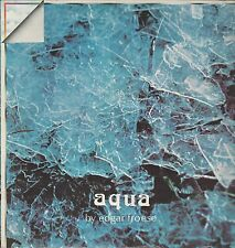"""AQUA """" EDGAR FROESE"""" LP ITALY PRESS  PERFECT ORIZZONTE  ORL 8368"""