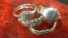 Set of 4 Napkin Rings Silver Plated 1847 Rogers Bros