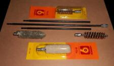 Vintage Unbranded Steel Gun Cleaning Rod W/Accessories  Super Fast Shipping