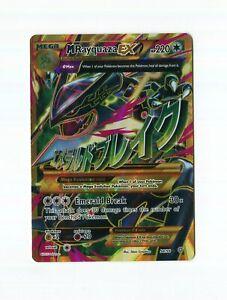 Mega M Rayquaza EX 98/98 XY Ancient Origins Full Art Pokemon Card