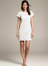 NWT KATE SPADE NEW YORK WHITE FLORAL EYELET SHORT SLEEVE DRESS SIZE 4 $378