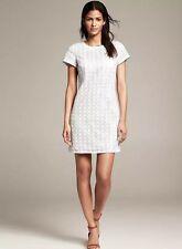 NWT KATE SPADE NEW YORK WHITE FLORAL EYELET SHORT SLEEVE DRESS SIZE 4 $378