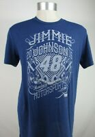 Jimmie Johnson NASCAR #48 Men's Navy T-Shirt