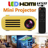 Portable LED Mini Projector HD 1080P HDMI USB TF AV For Home Theater Cinema