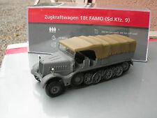 IXO 1/72 MILITAIRE TANK HALF TRACK FAMO 18t ZUGKRAFTWAGEN Sd.Kfz.9 USSR 1941 !!