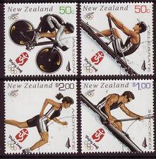 NEW ZEALAND 2008 BEIJING OLYMPICS SET OF 4 FINE USED