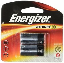 Energizer EL123APB-2 3-Volt Lithium Photo Battery