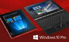 """Lenovo Yoga Book Pro 4GB/128GB 10"""" Notebook Tablet Notepad 3in1 Win10 Pro - Red"""