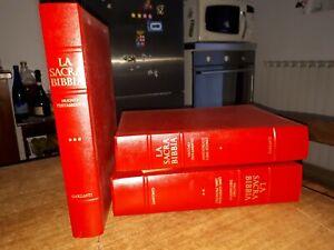 # LA SACRA BIBBIA 3 volumi cartonati   (Garzanti 1974) illustrato da REMBRANDT
