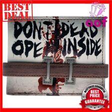 The Walking Dead Inside Door Don't Open Bifold Wallet Zombies Walkers