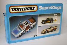 Repro Box Matchbox SuperKings K-98 Porsche 944