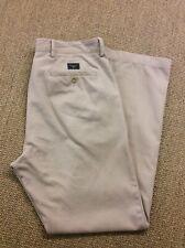 Mens GANT W34 L32 New Haven Ecru Chinos Trousers Superb