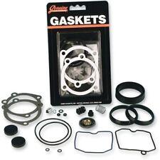 Genuine James Gasket Carb Rebuild Kit for Keihin CV Carburetors on 27006-88
