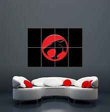 TELEVISION CARTOON THUNDERCATS LOGO EMBLEM GIANT ART POSTER PRINT  WA418